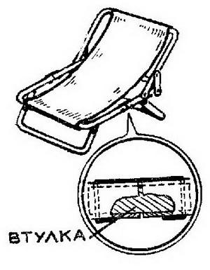 Кресло из раскладушки своими руками 65